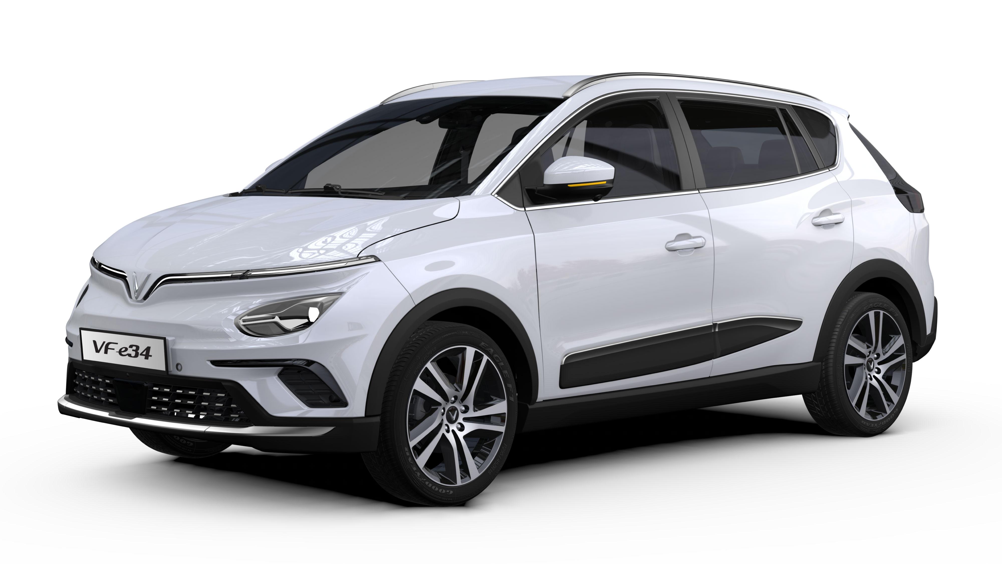 """""""Xem xét không thu thuế tiêu thụ đặc biệt và lệ phí trước bạ với ôtô điện"""" vfe34-white.jpeg"""