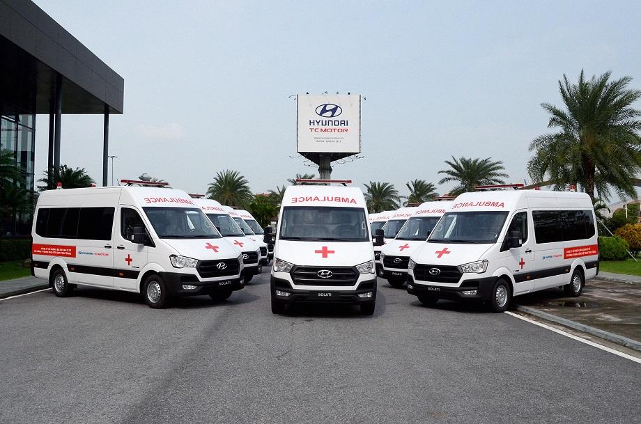 Liên doanh Ô tô Hyundai Thành Công trao tặng 10 xe Solati cứu thương hyundai-solati-cuu-thuong-2.JPG