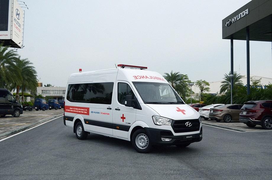 Liên doanh Ô tô Hyundai Thành Công trao tặng 10 xe Solati cứu thương hyundai-solati-cuu-thuong-4.JPG