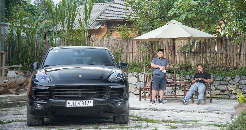 Hành trình Porsche SUV Hà Giang 2017