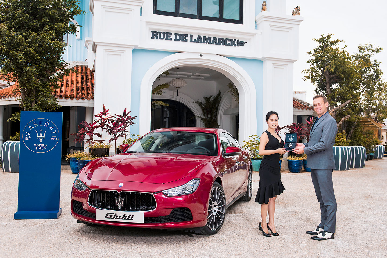 Sự giao thoa giữa Maserati và JW Marriott Phu Quoc Emerald Bay