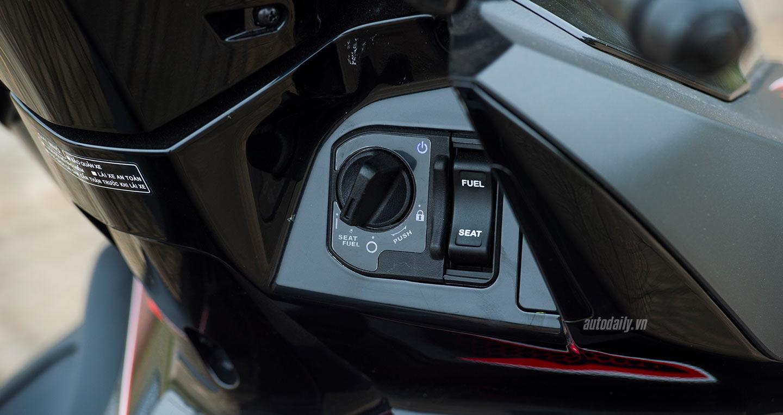 Ảnh chi tiết Honda Air Blade 2018