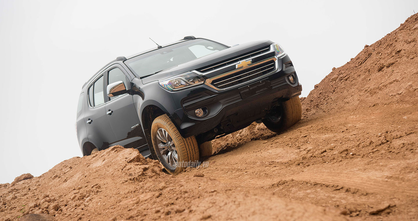 Chevrolet Traiblazer 2.8AT 4x4 2018