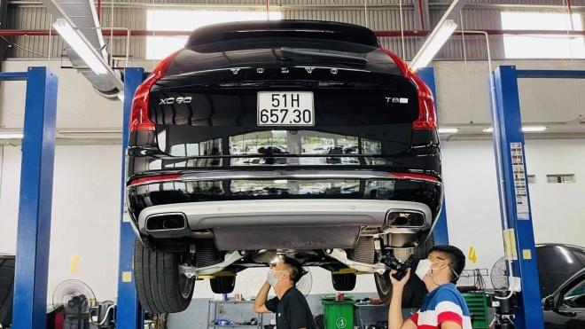 SOI GẦM Volvo XC90 T8 Excellence