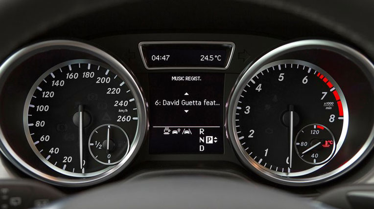 Mercedes-Benz M-Class 2012