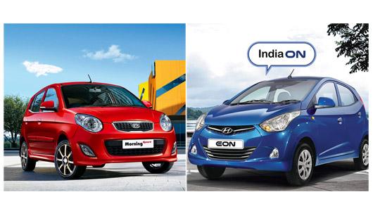 Hyundai Eon VS Kia Morning - Thị hiếu xe cỡ nhỏ - 1