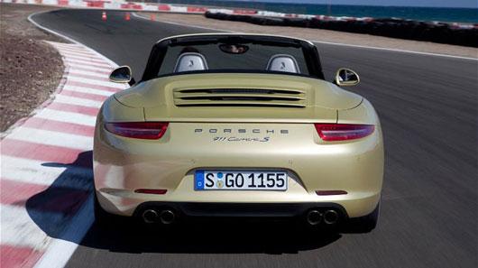 Porsche 911 Cabriolet 2012 - Bản tráng ca tốc độ - 4
