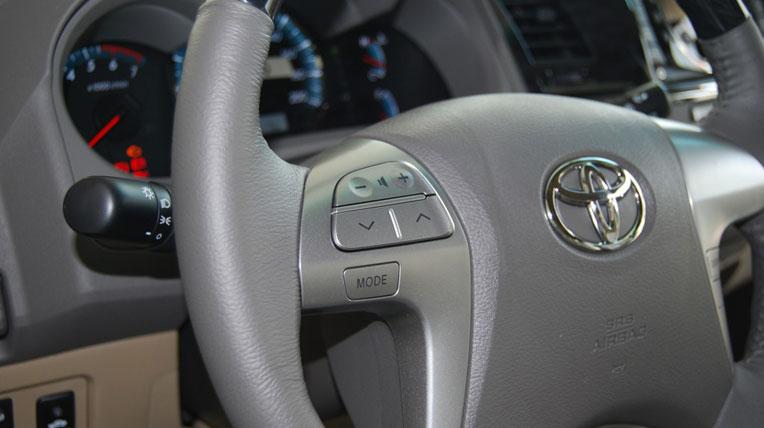 Cận cảnh Toyota Fortuner 2012 tại Việt Nam