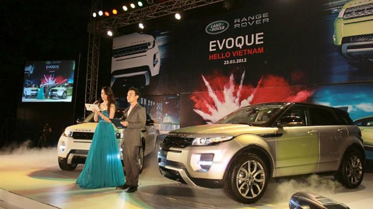 Range Rover Evoque tại Việt Nam