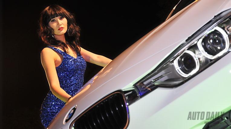 Tứ đại mỹ nhân trong buổi ra mắt BMW 328i