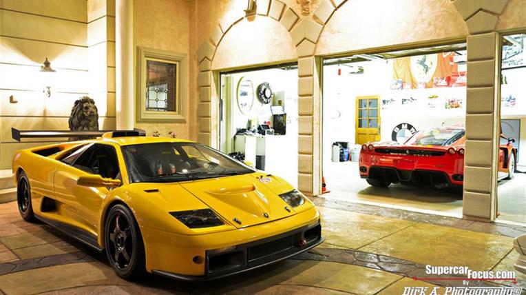 Bộ sưu tập siêu xe trong mơ