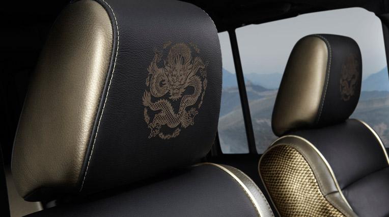 Ngắm rồng bay trên xe Jeep Wrangler