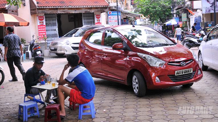 Hyundai Eon - Linh hoạt giữa phố đông