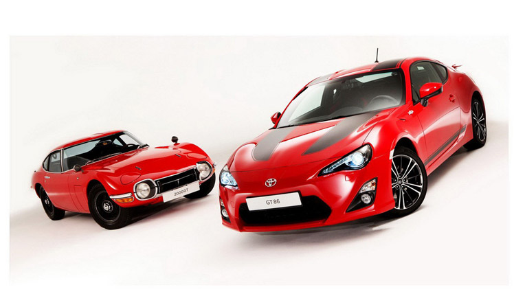 Bộ phụ kiện dành cho Toyota GT-86