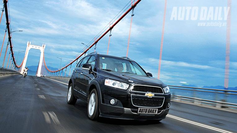 Chevrolet Captiva LTZ 2012