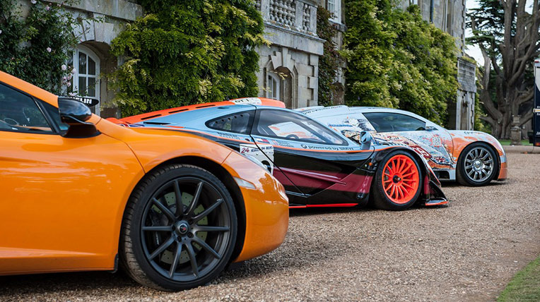 """Rừng siêu xe"" tại triển lãm Wilton House"