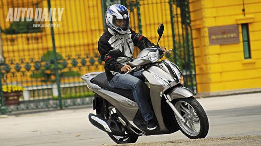 "Honda SH 125i mới - ""Xác SH, hồn PCX"" - 1"