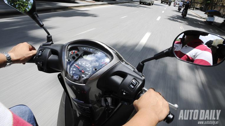 Honda SH125i 2012