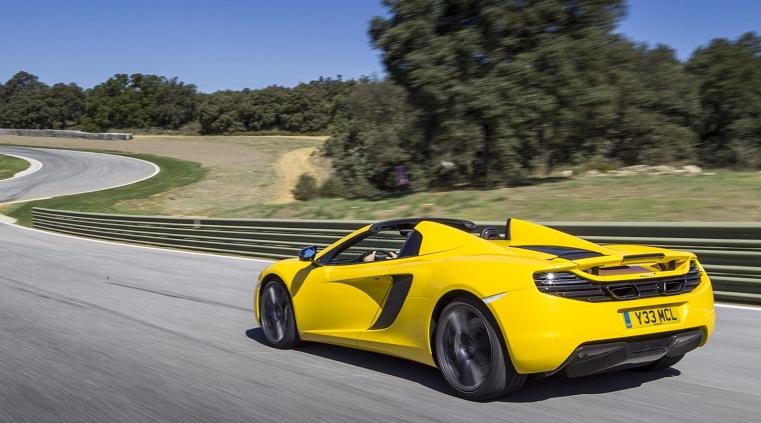 Ngây ngất với vẻ đẹp McLaren MP4-12C Spider