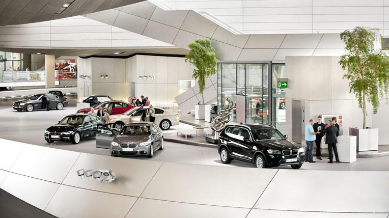 Công trình nghệ thuật BMW Welt
