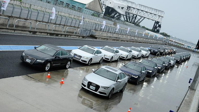 Trải nghiệm xe sang Audi tại Đài Loan
