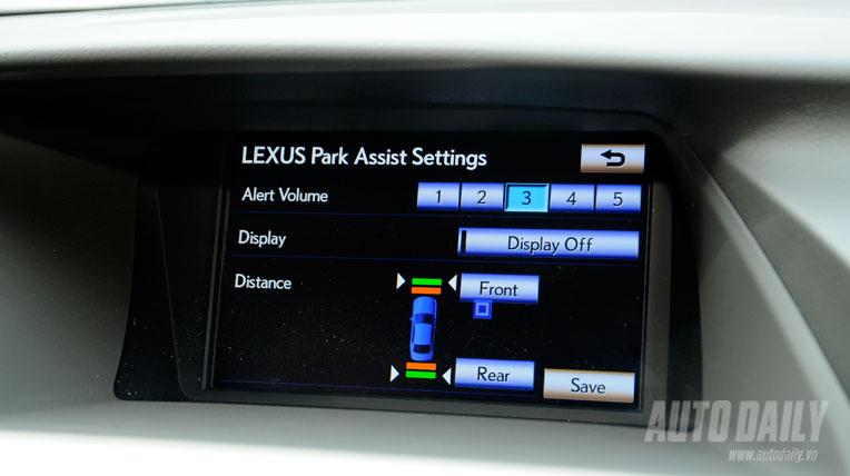 Khám phá Lexus RX 2013 tại Hà Nội