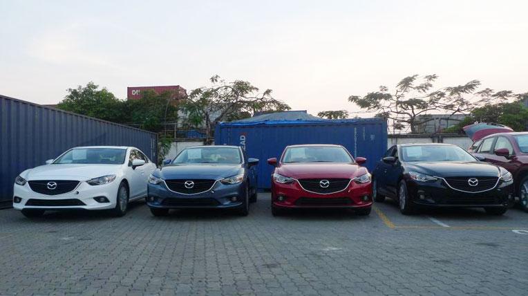 Mazda6 2014 về Việt Nam