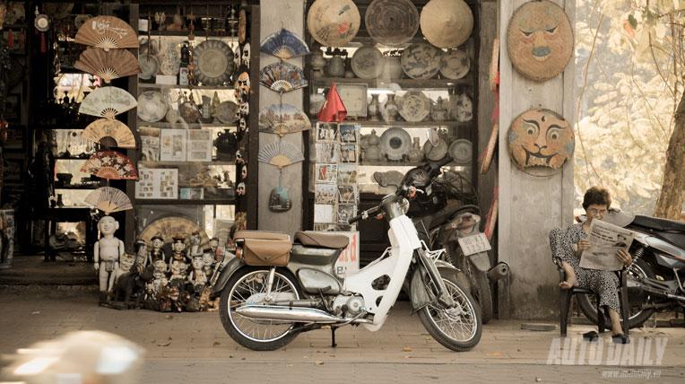 Honda Cub - Kiêu hãnh và hoài cổ