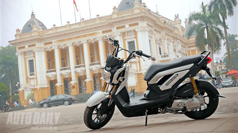Ngắm Honda Zoomer X 2012