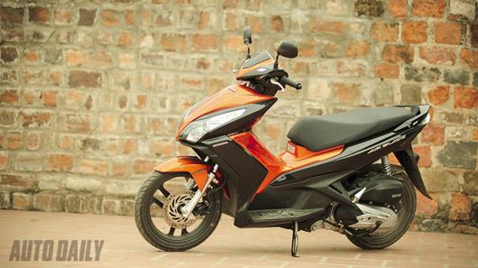Honda Air Blade 125cc – Chiếc xe của tiện ích - 4