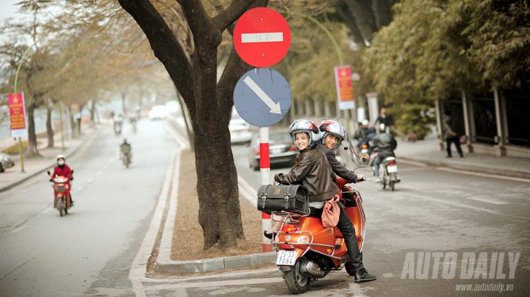 Chùm ảnh: Cùng Piaggio ET8 tung tăng dạo phố
