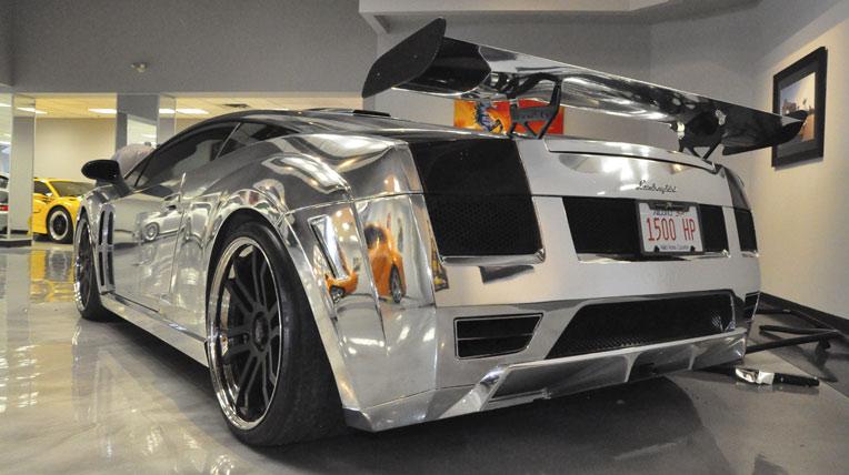 Lamborghini Gallardo bọc crôm 1.500 mã lực