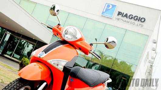Đánh giá ban đầu về Piaggio Liberty mới - 1