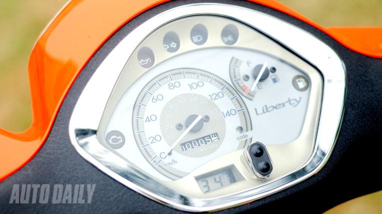 Piaggio Liberty động cơ 3V i.e