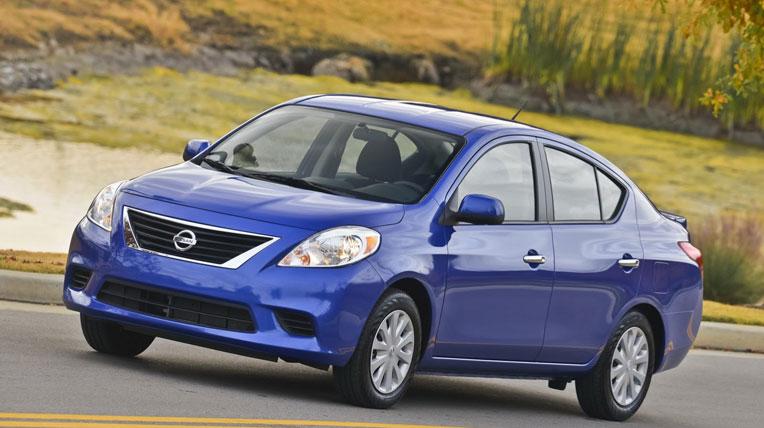 Nissan Versa sedan 2014