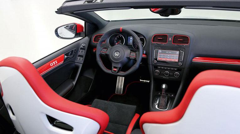 Volkswagen Golf GTI Cabrio Austria concept