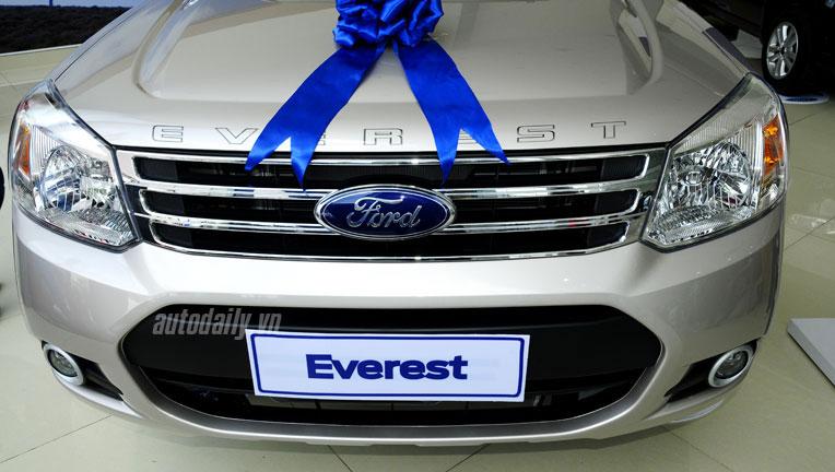 Ford Everest hoàn toàn mới