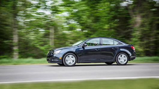 Đánh giá Chevrolet Cruze diesel 2014  - 2