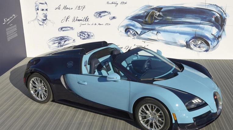 Bugatti Veyron phiên bản giới hạn Wimille