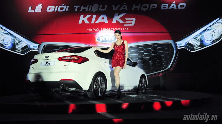 Kia K3 tại Việt Nam