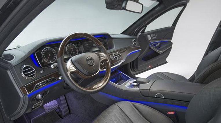 Mercedes-benz S-Class bọc thép của Transeco