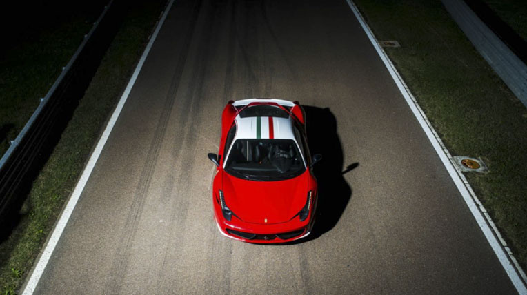 Ferrari 458 Italia lấy cảm hứng từ F1
