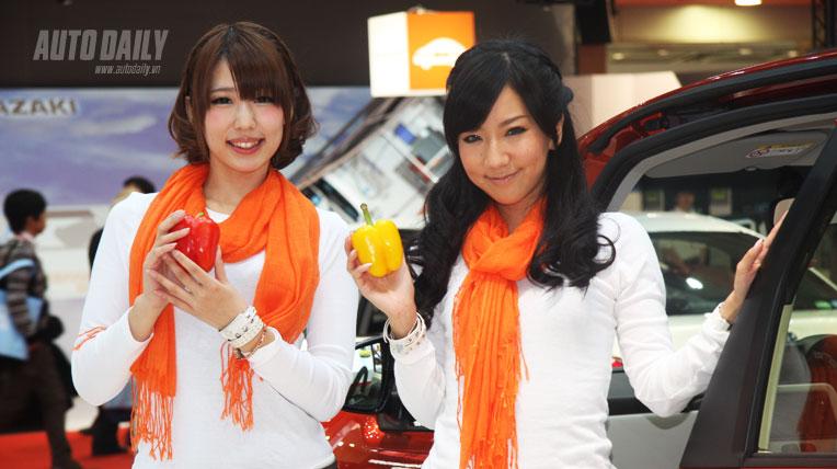 Mẫu xinh tại Tokyo Motor Show 2013