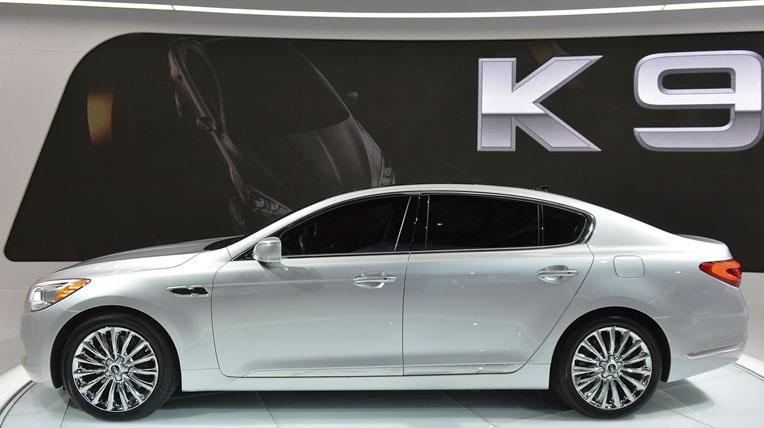 Kia K900 tại Los Angeles
