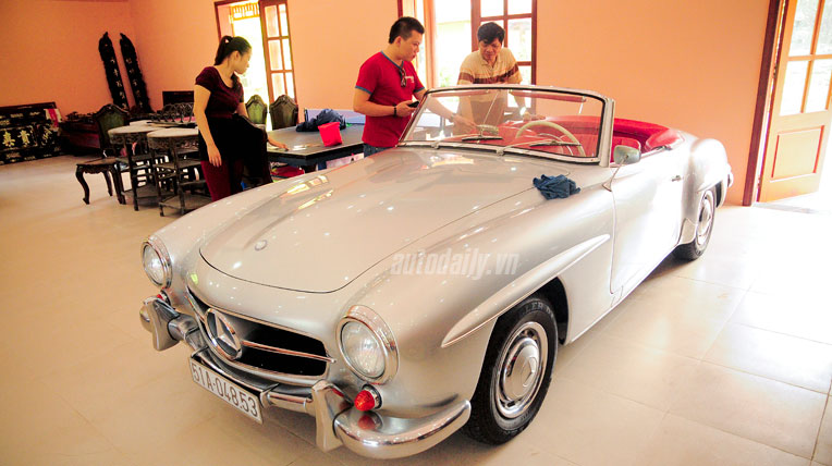 Bộ sưu tập xe cổ tiền tỷ ở Đồng Nai